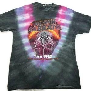 Black Sabbath The End 2016 Tour Shirt